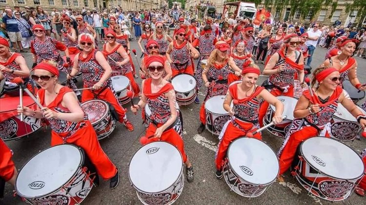 batala drumming in NY